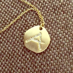 Jewelry - Letter A necklace
